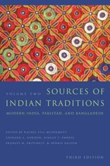 Sources of Indian Traditions - Modern India, Pakistan, and Bangladesh 3e | Rachel Fell Mcdermott |