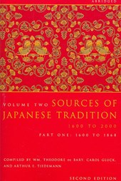 Sources of Japanese Tradition, Abridged |  |