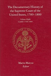 The Documnetary History of the Supreme Court of the United States, 1789-1800 - Cases 1798-1800 V | Maeva Marcus |