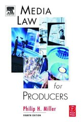 Media Law for Producers | Philip Miller |