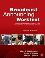 Broadcast Announcing Worktext | Stephenson, Alan ; Reese, David ; Beadle, Mary |