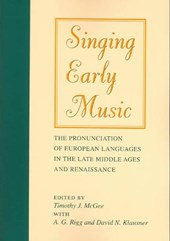 Singing Early Music |  |