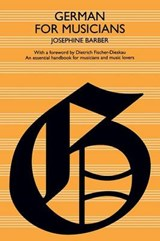 German for Musicians | Josephine Barber |