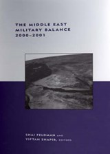 The Middle East Military Balance 2000-2001 | Shai Feldman |