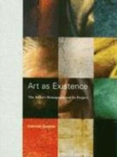 Art as Existence - The Artist's Monograph and Its Project