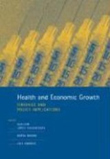 Health and Economic Growth - Findings and Policy Implications | Guillem López-casasnova |