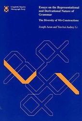 Essays on the Representational and Derivational Nature of Grammar - The Diversity of Wh-Constructions