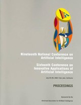AAAI 2004 - Proceedings of the Nineteenth National Conference on Artificial Intelligence | Aaai |
