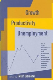 Growth Productivity & Unemployment | Peter Diamond |
