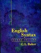 English Syntax | C.l. Baker |