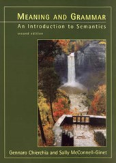 Meaning & Grammar - An Introduction to Semantics | Gennaro Chierchia |