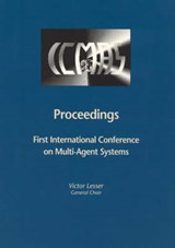 Proceedings of the First International Conference on Multiagent Systems, Francisco | Victor Lesser |