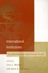 International Institutions | Lisa L Martin |