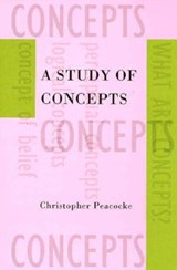 A Study of Concepts | Christopher Peacocke |