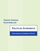 Political Economics - Explaining Economic Policy