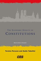 The Economic Effects of Constitutions | Torsten Persson |