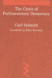 The Crisis of Parliamentary Democracy
