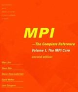 MPI - The Complete Reference MPI-2 - 2V Set | Marc Snir |