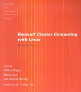 Beowulf Cluster Computing with Linux | William Gropp |