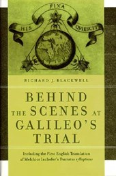 Behind the Scenes at Galileo's Trial