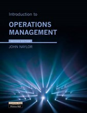 Introduction to Operations Management | John Naylor |