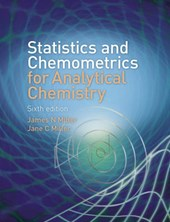 Statistics and Chemometrics for Analytical Chemistry | James Miller |