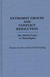 Extremist Groups and Conflict Resolution