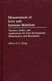 Measurement of Love and Intimate Relations