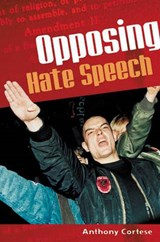 Opposing Hate Speech | Anthony Cortese |