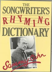 Songwriter's Rhyming Dictionary | Sammy Cahn |
