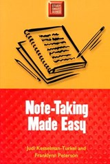 Note-Taking Made Easy | Judi Kesselman-Turkel ; Franklynn Peterson |