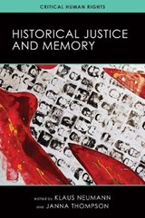Historical Justice and Memory |  |