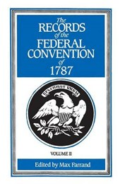 Farrand: *records* Federal Convention (paper)