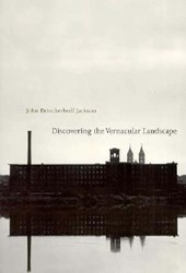 Discovering the Vernacular Landscape (Paper)