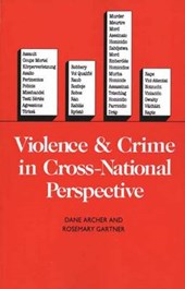 Violence and Crime in Cross-National Perspective