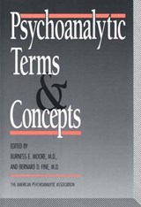 Psychoanalytic Terms and Concepts | auteur onbekend |