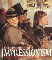 Impressionism - Art Leisure & Parisian Society (Paper)