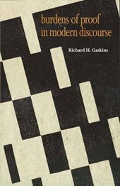 Burdens of Proof in Modern Discourse | Richard H. Gaskins |