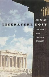 Literature Lost - Social Agendas & the Corruption of the Humanities (Paper)