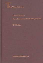 Confession Philosophi and Papers Concerning the Problem of Evil, 1671-1678