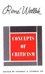 Concepts of Criiticism | Rene Wellek |