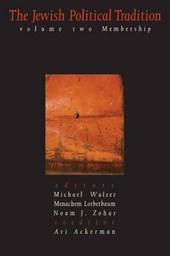 The Jewish Political Tradition Volume II