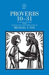 Proverbs 13-31 - Yale Anchor Bible Commentary Series