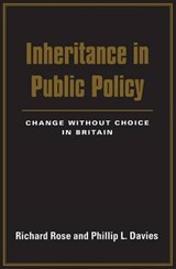Inheritance in Public Policy - Change without Choice in Britain | Richard Rose |