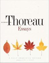 Thoreau: essays