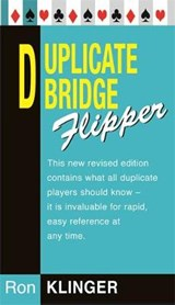 Duplicate Bridge Flipper | Ron Klinger |