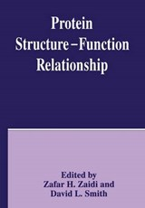 Protein Structure-Function Relationship | ZAIDI,  Zafar H. |