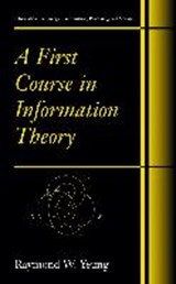 A First Course in Information Theory | auteur onbekend |