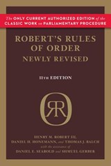 Robert's Rules of Order | Henry M. Iii Robert |