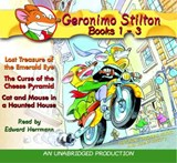 Lost Treasure of the Emerald Eye / the Curse of the Cheese Pyramid / Cat and Mouse in a Haunted House | Geronimo Stilton |